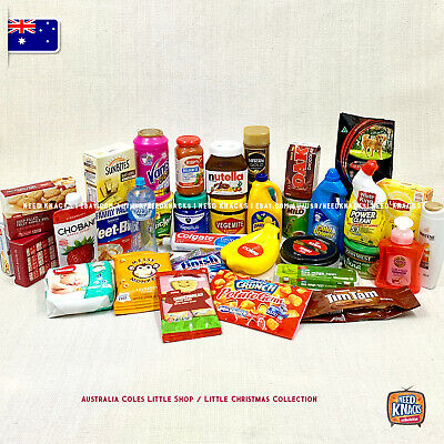 Coles Little Shop Mini Collection - Great for Zuru Mini Brands Collectors! AU