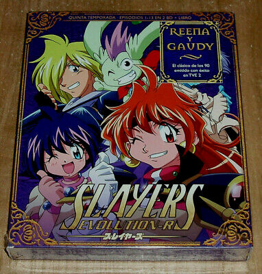 Slayers Evolution-R Quinta Temporada 2 Blu-Ray+Libro Nuevo Anime (Sin Abrir) R2
