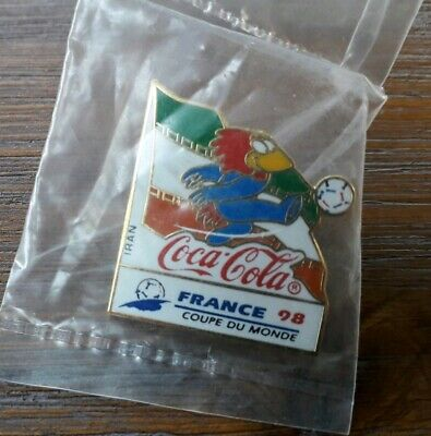 Pins Football Footix Coca Cola France 98 World Cup Equipe Iran