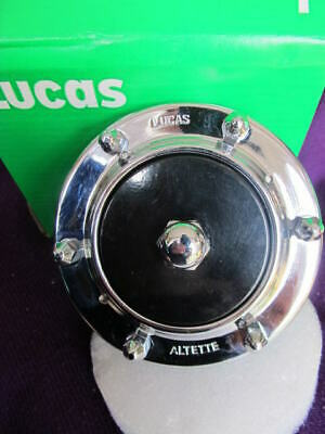 new Lucas ALTETTE 12 volt HORN classic motorcycle BSA Triumph AJS Norton tested!