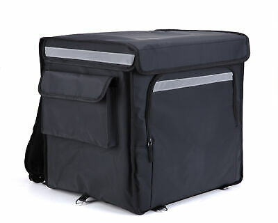 Large Insulated Backpack Delivery Bag for Food Deliveries, for Bike or Motorbike