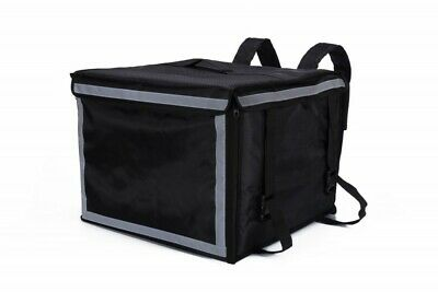Extra Large Box Shaped Insulated Delivery Bag for Takeaway Food Deliveries.