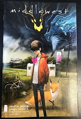 Middlewest #1 Cover A Huddleston Skottie Young Sold Out Comic Book 2018 Netflix