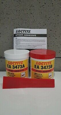 GENUINE Loctite EA 3473 2-part, steel-filled epoxy adhesive 500g A&B