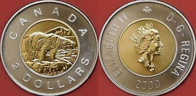 Specimen 2019 Canada 5 Cents From Mint's Set