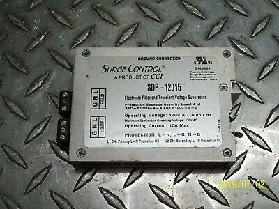 Cci Surge Control Sdp 12015 Electronic Filter & Transient Voltage Surpressor