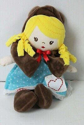 "Baby Gund Goldilocks and the Three Bears Plush Doll 13/"" Goldie Toy Girls NWT NEW"