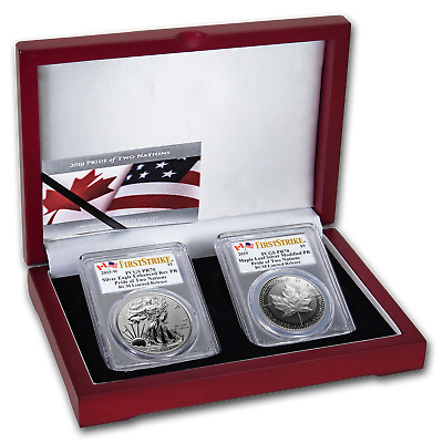 2019 RCM Pride of Two Nations 2-Coin Set PR-70 PCGS (FS) - SKU#195547
