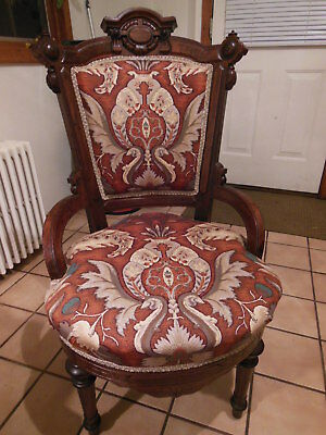 Victorian Eastlake Parlor Chair ~ Pick Up CT