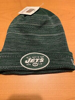 check out f4983 eeda0 New York Jets Beanie Knit Hat New Era NFL Green