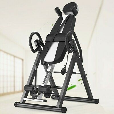 Indoor Inversion Table Pro Fitness Chiropractic Exercise Back Reflexology Pad 🔥