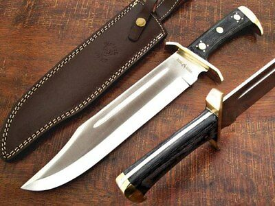 HUGE Razor Sharp Full Tang D2 Steel 5mm thick Bowie Knife Extreme Dagger '