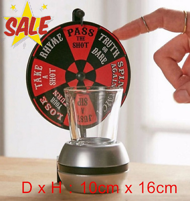 The Shot Roulette Glass Alcohol  Drinking Game Dart Shot Party Games Bar Game