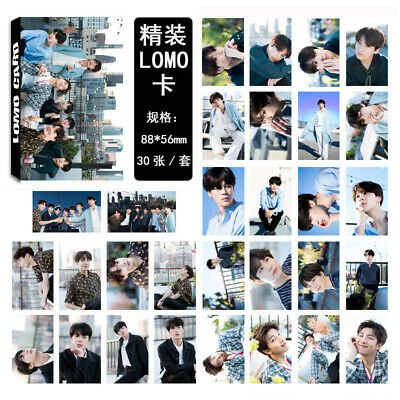 30pcs KPOP BTS Collective LOMO Box Card Set Album Mood for Love WINGS photocard