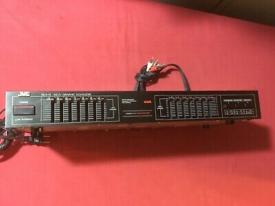 JVC SEA-11B S.E.A. GRAPHIC EQUALIZER (100% functioning condition)