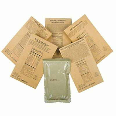Captain Dave&39s 12 Military MRE Entrees, Meals Ready Eat, MREs Case Camping