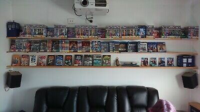 Dr Who Collection (Mostly DvD but also many BlueRay.)