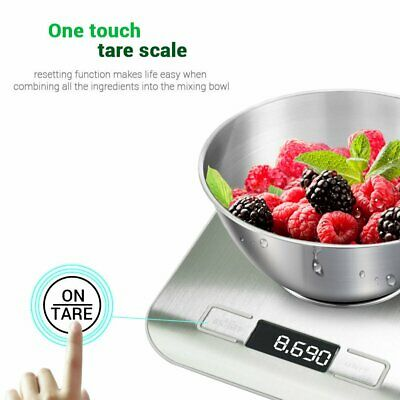 Postal Digital Kitchen LCD Scales 5000g/1g Aquatronic Food Weighing Weight Scale