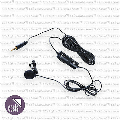 Boya BY-M1 Omni Lavalier Microphone with Battery Module for Camera & Smart Phone
