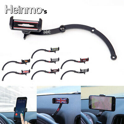 360° Rotation Cell Phone Mount Cradle Holder Stand For MINI COOPER R55 R56 R60