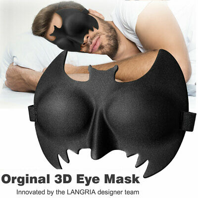 3D Eye Mask Memory Foam Travel Beauty Sleep Bedtime Blindfold Blinder Blackout