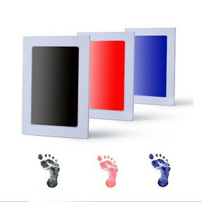 Infant Inkless Ink Pad Touch Footprint Handprint Safe Mess Commemorate Acces