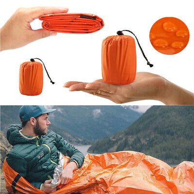 CA Hiking Emergency Sleeping Bag Thermal Waterproof For Outdoor Survival Camping