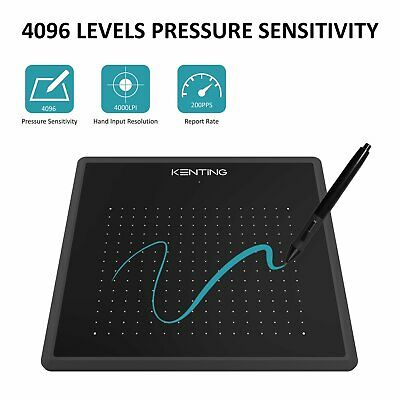 Art Design Digital Graphics Drawing Tablet Board Pad 4096 Level Stylus as Huion