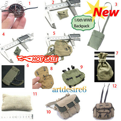 "DRAGON 1:6 Scale Ace Military figure Parts - Backpack Map Pack Bag DAM 12""Figure"