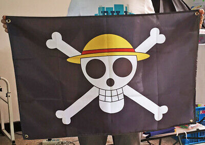 One Piece Buggy The Clown Black Flag Anime Cosplay Collection 95X65cm