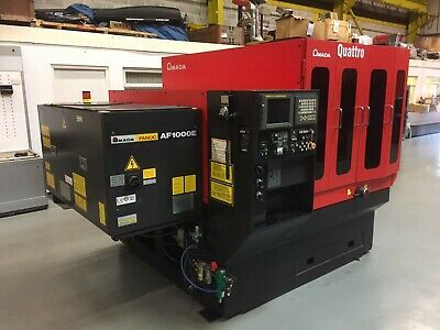 Amada Quattro 1Kw  Laser Cutting Machine