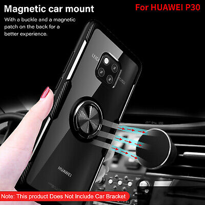 For Huawei P30 Pro Case Honor 8X P20 Mate20 Magnetic Hybrid Tempered Glass Cover