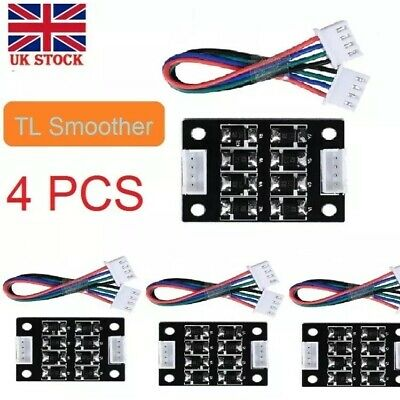 4pcs TL-Smoother Addon Module & Cable Kit for 3D Printer Stepper Motor Drivers