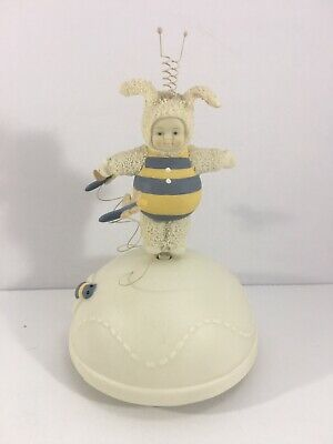 Dept 56 Snowbunnies Bumble Bee Revolving Music Box You Are My Sunshine
