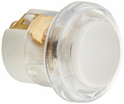 Polished Brass NuTone PB15LPB Wired Lighted Door Chime Push Button