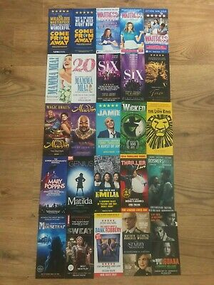Wicked Once On This Island 50 West End Musical London Flyers Matilda Waitress