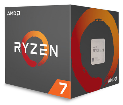 AMD Ryzen 7 2700X Wraith Prism AM4 Octa Core 3.70GHz 20MB 105W Retail CPU
