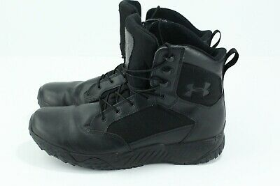 Under Armour Mens Stellar Tactical Military Boots Black Size US 14 EUR 48.5