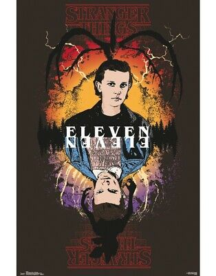 Stranger Things Eleven Maxi Poster #51 61 X 91.5 Cm