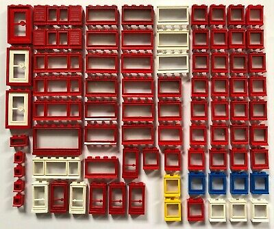 Lego GMT142 20 x Vintage Red Doors and Windows