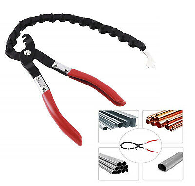 """Exhaust Tail pipe Tube Cutting Tool Chain Cutter Cutting Chain Pliers 3/4"""" to 3"""""""
