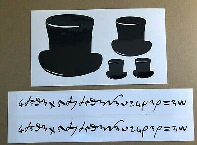 Gentleman Jack TOP HAT and I LOVE Decals/Stickers SET - Anne Lister - Colors