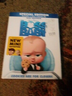 The Boss Baby Special Edition w/Slipcover (Blu-Ray, DVD, Digital Copy, 2017)b14