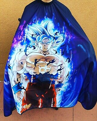 """Dragon Ball Z (Goku) Barber hair cutting and styling cape 55""""X60"""""""