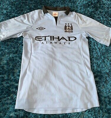Manchester City Home Shirt 2012/13 Size SMALL 36''