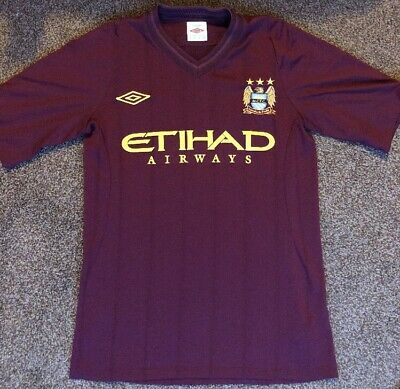 Manchester City Away Shirt 2012/13 Size SMALL