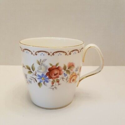 Royal Albert Mug Fine Bone China Jubilee Rose Pattern Vintage Made in England