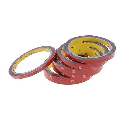 Strong Permanent Double-Sided Sticky Adhesive Glue Tape With Red Liner 3m@# Ec