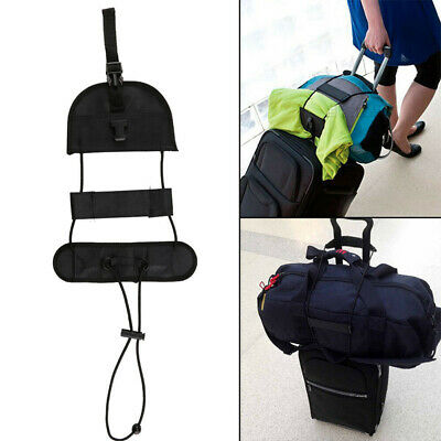 Suitcase Travel Luggage Adjustable Tape Belt Add A Bag Strap Carry On Bungee New