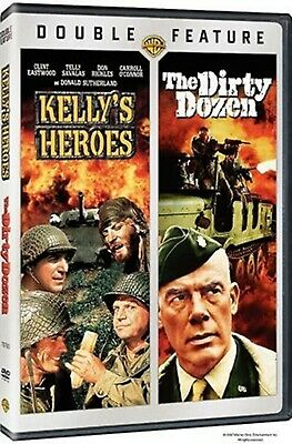 Used Dvd - Kelly's Heroes + The Dirty Dozen - Clint Eastwood , Lee Marvin ,